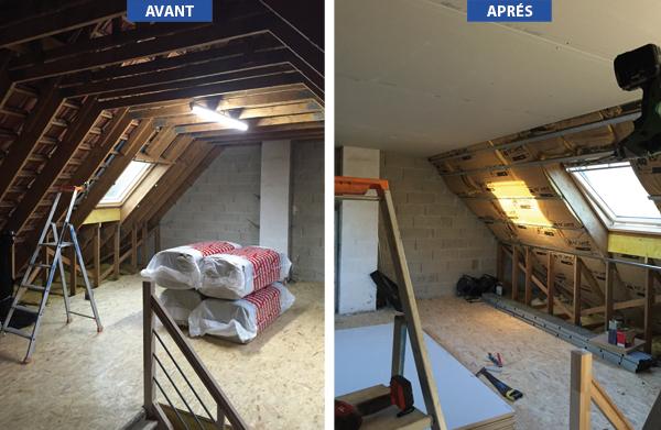 A+ Pose : aménagement comble Oise : Beauvais, Méru, Chambly ...
